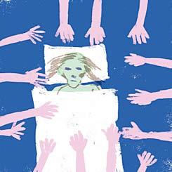 בזמן שהפגנתם רחל טל שיר חלתה בסרטן והיא נלחמת על חייה