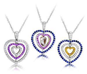 זהב, יהלומים ולבבות....  כל מה שיעשה אותך מאושרת ביום האהבה הקרוב!