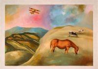 אמנות ישראלית ממריאה אל על