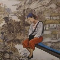 אישה - תערוכה קבוצתית חלל אמנות גבו, תל אביב