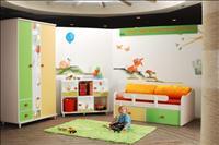 חדר באופי צבעוני
