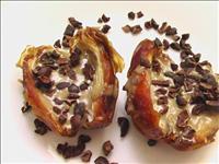 חדש בישראל : תמרים מג'הול אורגניים מצופים שוקולד אורגני