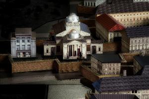 יום הזיכרון לשואה ולגבורה - תמונות מדגם מוקטן של גטו ורשה מתוך תערוכה במוזיאון יד מרדכי
