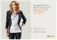 'Get Happy' חולצות להעצמה אישית