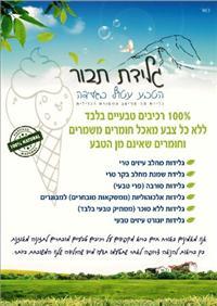 גלידות תבור - הפתעה ישראלית