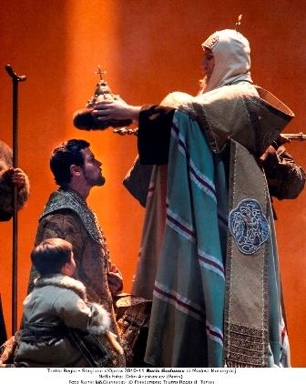 האופרה הישראלית מציגה את בוריס גודונוב