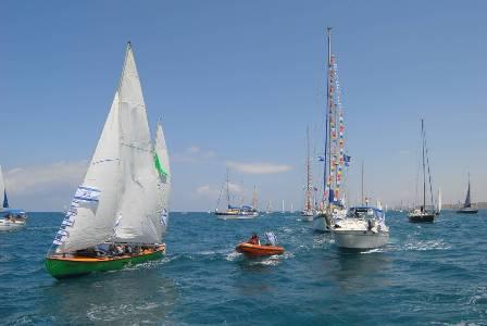 'הצדעה לחיל הים' - משט יום העצמאות המסורתי, יוזנק מהמרינה בהרצליה