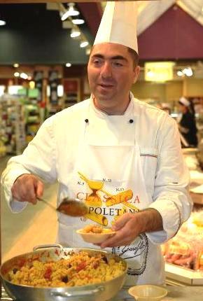 מריו גיסימונדו, השף הנודע מאיטליה, בישל בישראל