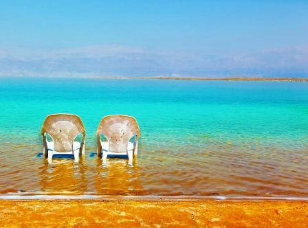ים של אהבה בחוף מינרל!