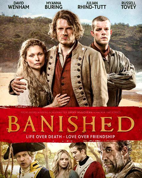 מגורשים Banished, סדרת הדגל של ה-BBC  עלתה לשידור בלעדי בסלקום TV