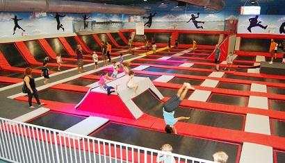 SKY JUMP - פארק טרמפולינות מאתגר לכל המשפחה!