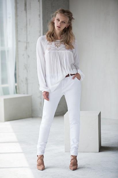 רשתות האופנה המובילות, עם הגוון הנצחי - לבן!
