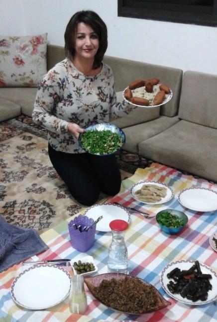 נסיבה סמארה, דרוזית פורצת דרך, שחוויה להתארח ולאכול אצלה