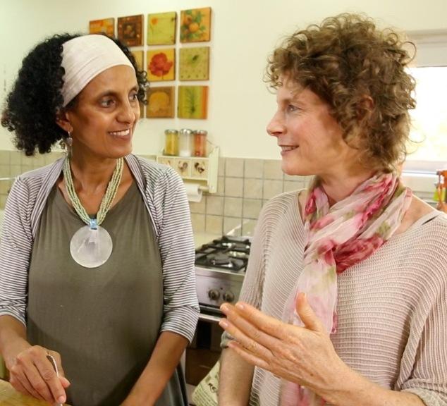 זהורית ורחלי - נשים מיוחדות שהתזונה הבריאה חיברה ביניהן