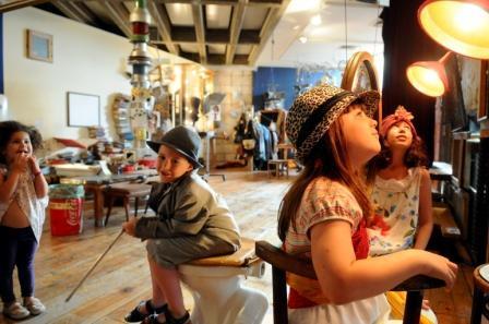 פעילויות לילדים ולכל המשפחה במוזיאון ינקו-דאדא בעין הוד