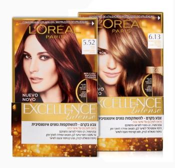 מותג הקוסמטיקה הבינלאומי L'ORÈAL PARIS, משיק סדרה חדשה של ערכות צבעי שיער .