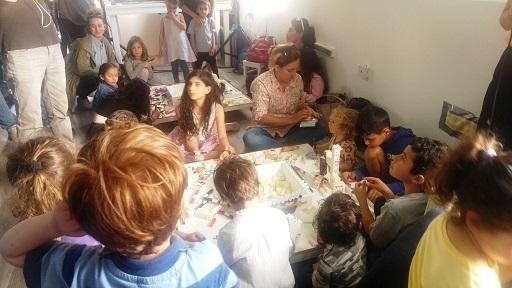 טל-יה לוי ו- ליה יעקבי יוצרות משחק לקטנטנים - גראפיבלוקס