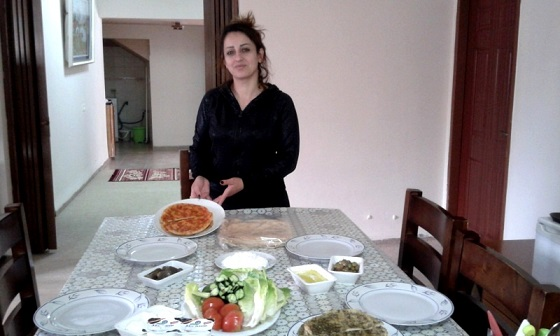 אירוח סנא בחרמון - אצל סנאא אבו זיד במג'דל שאמס
