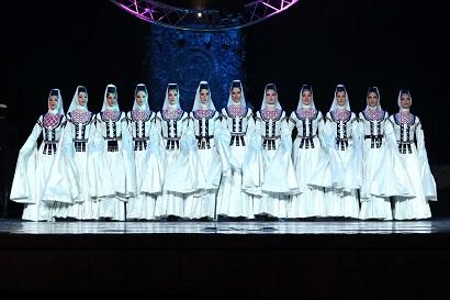 Erisioni להקת המחול הלאומית של גיאורגיה להופעות בישראל