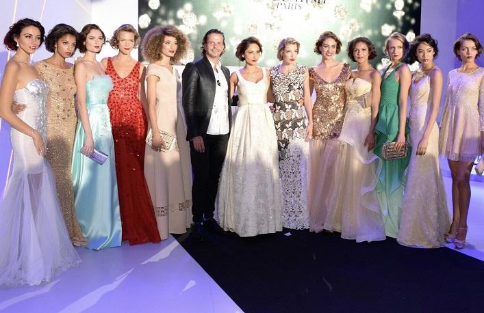 גיל נויהאוס, מעצב הצמרת, בפתיחת שבוע האופנה בפריז