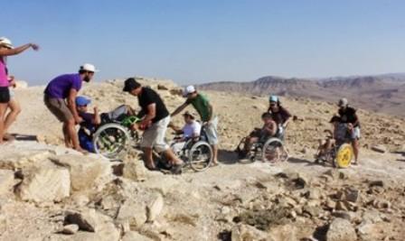 שוקו, לחמנייה, כיסא גלגלים