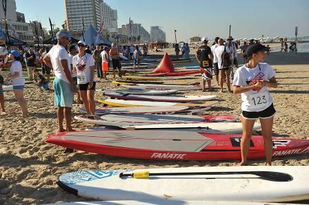 TLV OPEN SUP RACE 2014 - אליפות תל אביב הפתוחה ב-SUP יוצאת לדרך