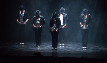 מחווה למייקל ג'קסון בתיאטרון מחול אודיסאה