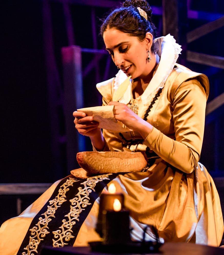דונה גרציה - מלכת היהודים, הצגה מרשימה בתיאטרון גושן