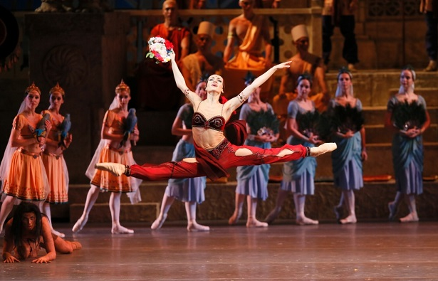 מופע בלט מרהיב מרוסיה לישראל La - Bayadère