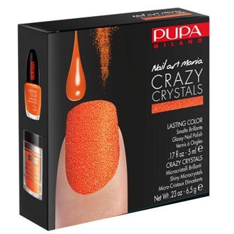 הלהיט החדש לציפורניים : ערכת PUPA CRAZY CRYSTAL