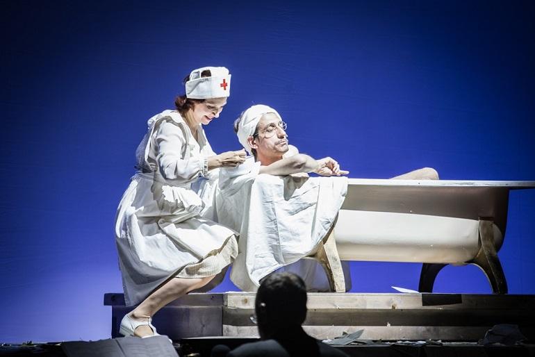תענוג צרוף בתיאטרון גשר - ההצגה 'קיץ במרינבאד '