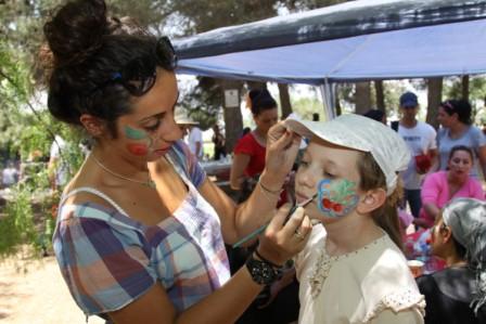 פסטיבל הדובדבנים 2014 בגוש עציון