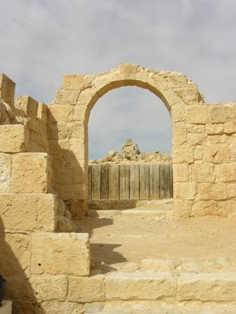 גן לאומי עבדת, אתר המורשת העולמית, שוקם