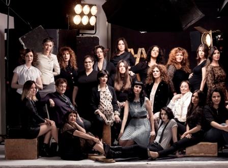 מובילות הקולנוע הישראלי – צילום קבוצתי