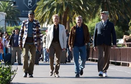 4 חתני אוסקר בסרט וגאס אחד... LAST VEGAS