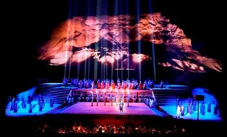 האופרה הישראלית חוזרת למצדה