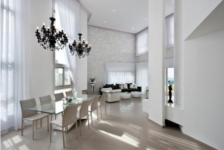 עיצוב תאורה דקורטיבית ואדריכלית ב