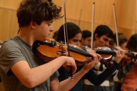 קשת אילון - קורס קיץ רב רב פעילויות מוזיקליות