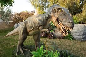 ממלכת הדינוזאורים קמה לתחיה בגן הבוטני בירושלים !