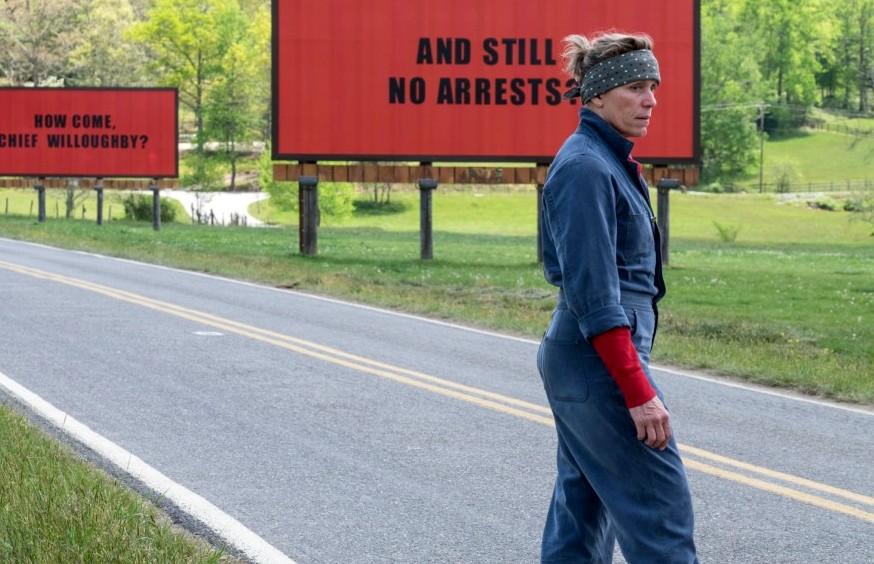 יצירת מופת - הסרט 'שלושה שלטים מחוץ לאבינג, מיזורי'